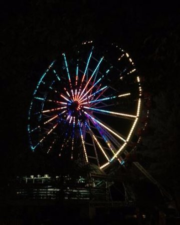 Canobie Lake Park: You get incredible views of the park from the ferris wheel.