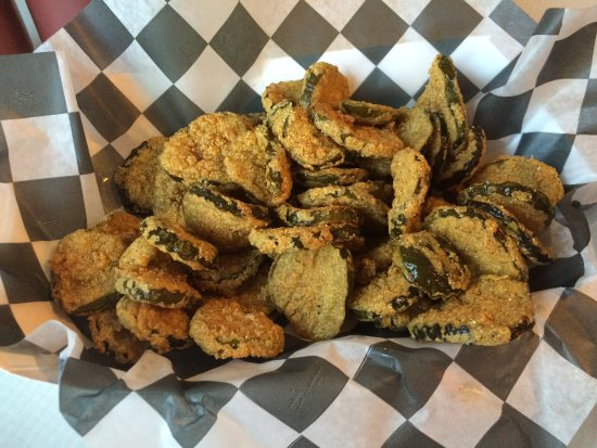 Liberty, MO: Fried pickles, ahhh...