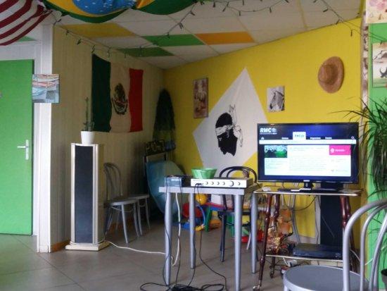 Mazamet, Francia: Le coin karaoké