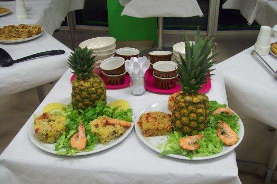 Mazamet, Francia: Des délicieux plats.