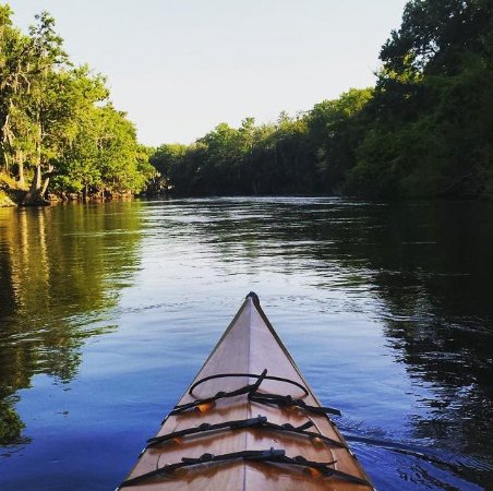 Branford, FL: Kyaking, springs, manatees, cave diving + river fun on the Santa Fe river
