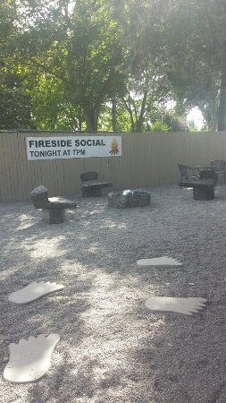Spokane Valley, WA: Community Firepit for Fireside Social