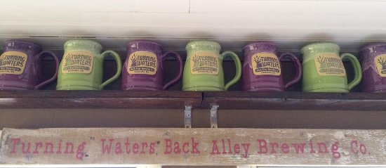 Wabasha, MN: Turning Waters Back Alley Brewing Co on our property