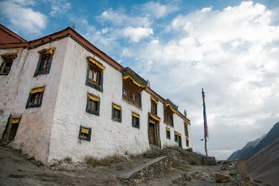 Kargil, Hindistan: Rangdum Monastery