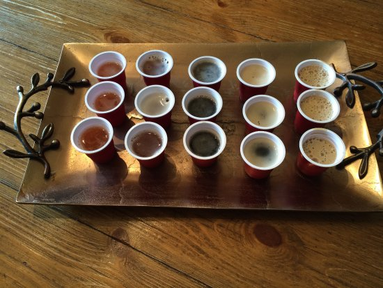Wabasha, MN: Hoppy Girl Brewing, LLC aka Turning Waters Back Alley Brewing Co. Craftbeer Samples