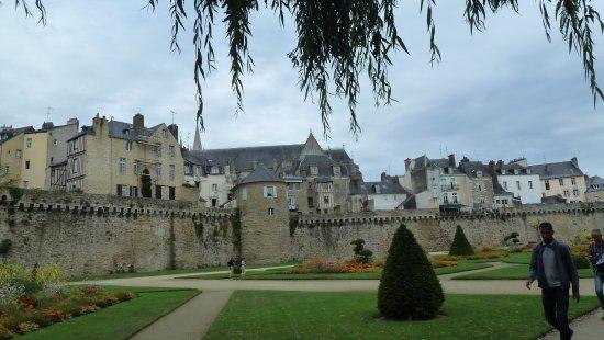 Remparts de Vannes : le mura