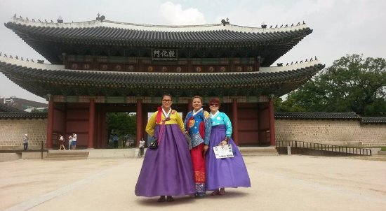 Jeonju, Corea del Sur: Love those hanbok