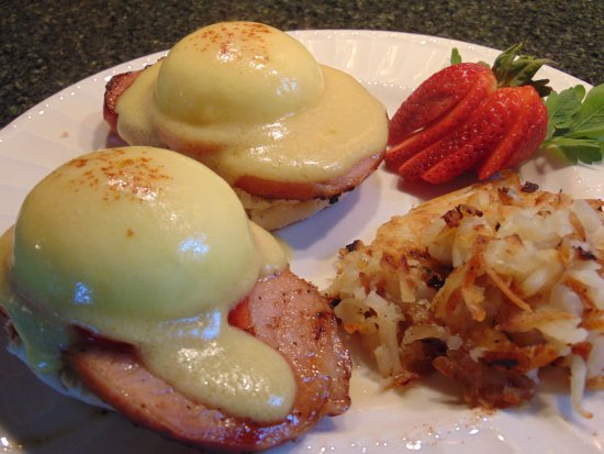 Hector, estado de Nueva York: Our Eggs Benedict