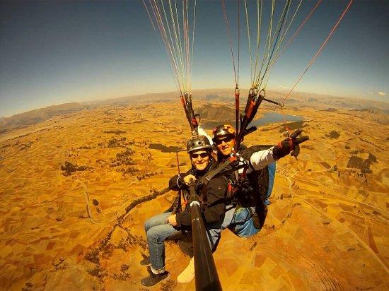 Chinchero, Perú: Flying in Cusco!