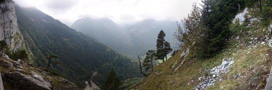 Thorens-Glieres, فرنسا: Vue depuis le belvédère du Pas du Roc
