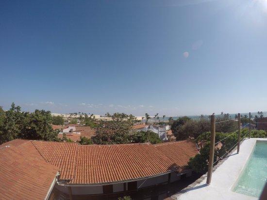 Pousada Blue Jeri: viste de la terraza.