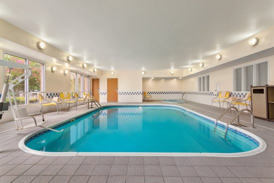 Indoor Pool & Hot Tub at the Fairfield Inn & Suites Norman