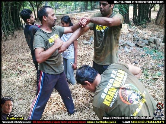 BadAzz Krav-Maga Self-Defense Military Combat Academy: Visit KravMagaBangalore.in. BadAzz Krav Maga Self Defense by Franklin Joseph, Safety Empowerment
