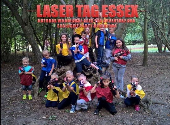 Purfleet, UK: Laser Tag Heading