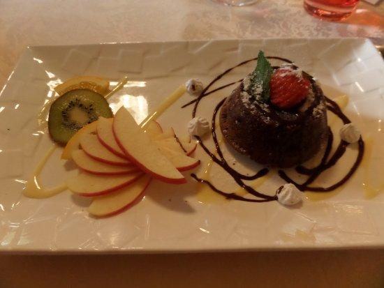 La Coquille, Frankrig: Moelleux au chocolat