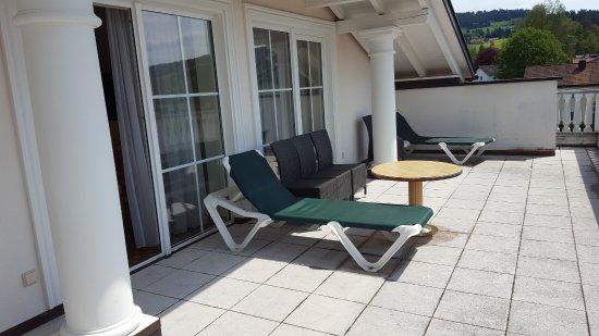 Weiler-Simmerberg, Tyskland: Doppelzimmer Residenz