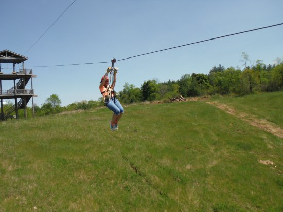 Lake Geneva Canopy Tours 1200 Ft Of Thrills On The Dual Racing Zip LIne