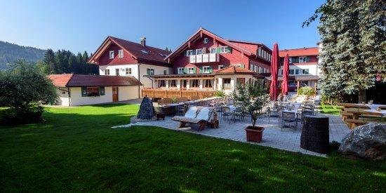 Maierhöfen, Deutschland: Gartenrestaurant Krone