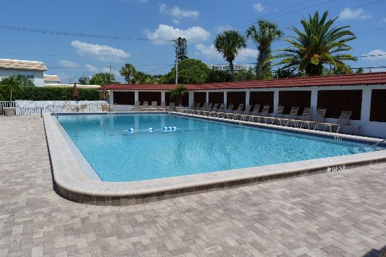 The Casa Blanca: One of the largest pools in Siesta Key.  Heated, too!
