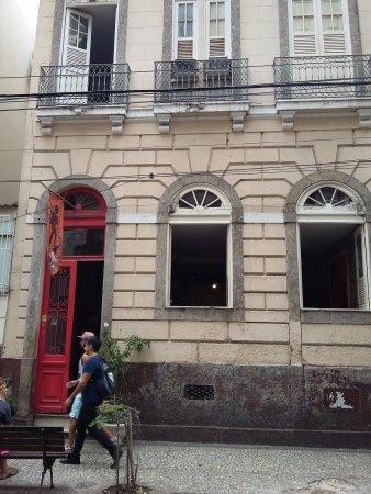 Art Hostel Rio: fachada