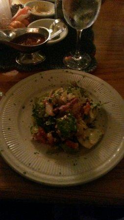 Jensen Beach, FL: Half VERY SPECIAL Salad!!!!