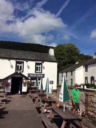 Frontage of The Sun Inn, Bassenthwaite