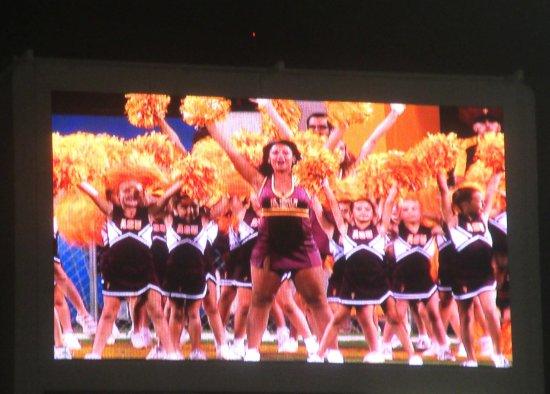 ASu Cheerleder on Family Day (Young Children Cheerleaders), Sun Devil Stadium, Tempe, AZ
