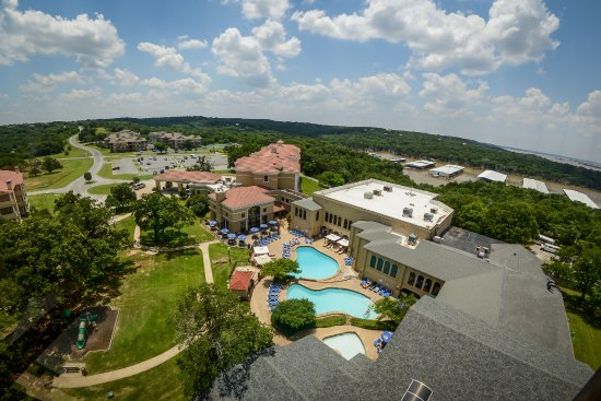 Tanglewood Resort and Conference Center: Aerial View of Tanglewood Resort