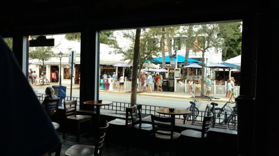 The Bull And Whistle Bar: You can watch the action on Duval Street!