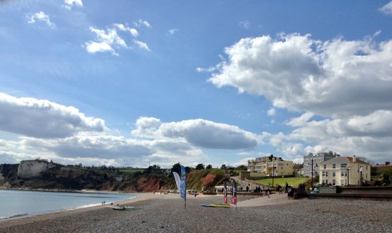 Seaton, UK: A beautiful photo of the Beaumont and the bay