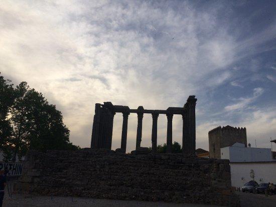 Templo Romano de Evora (Templo de Diana): Templo Romando de Évora - Évora Portugal