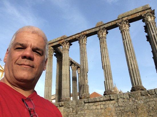 Templo Romano de Évora (Templo de Diana): Templo Romando de Évora - Évora Portugal