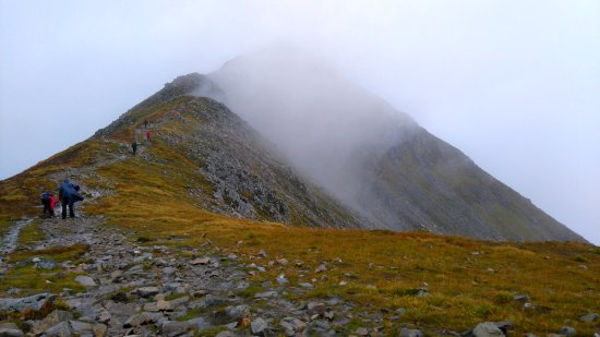 "Kinlochleven, UK: Stob Dubh, an ""easy summit"" by Scottish standards, and attainable to most!"