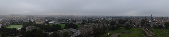 St Andrews Cathedral: A view from St Rule's tower