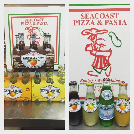 Seacoast Pizza and Pasta: San Pellegrino Sodas