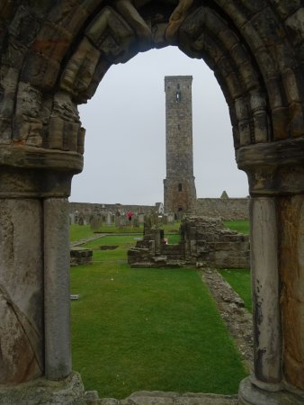 St Andrews Cathedral: St Rule's tower