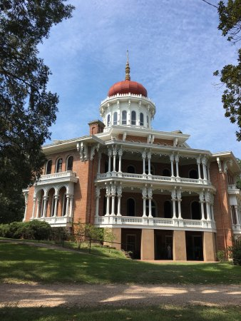 Natchez, MS: Amazing Mansion! Definitely my favorite even though it never was finished. The architecture back
