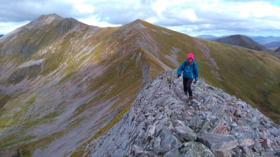 Kinlochleven, UK: Easy and spectacular walking available in The mamores, our local mountains, and very quiet too :