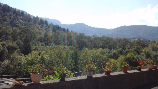 Hotel Ladagnous: Une vue magnifique de notre chambre numéro 8.