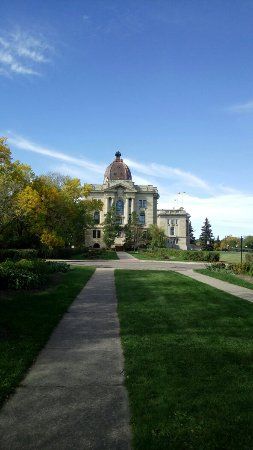 Wascana Centre Park: Views of the Wascaba Park and Lake