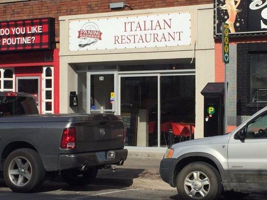Panini Express Italian Restaurant - Dunlop Street, Barrie ON