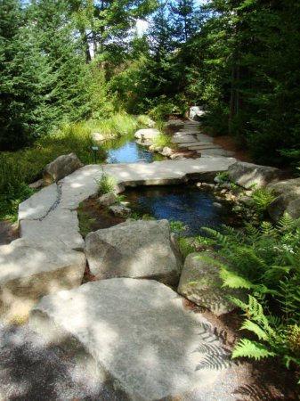 Boothbay, ME: Beautiful small pond