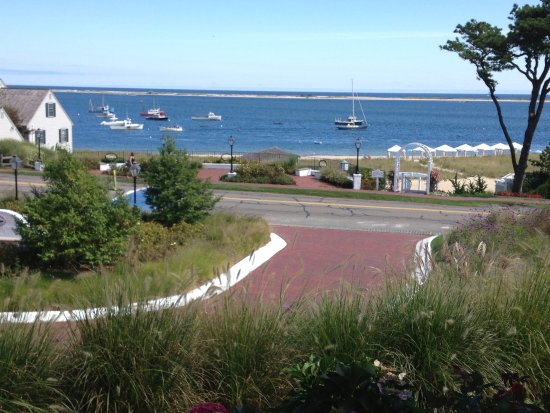 Chatham Bars Inn Resort - Dining: View of the Cove from the Veranda