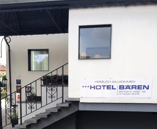 Hotel Bären Suhr: Einen Besuch wert
