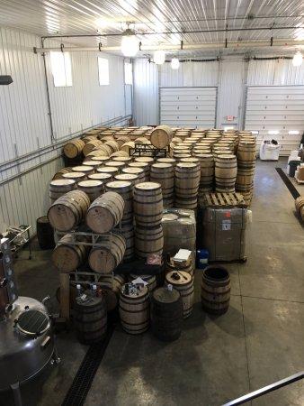 Warwick, NY: Soooo much bourbon....