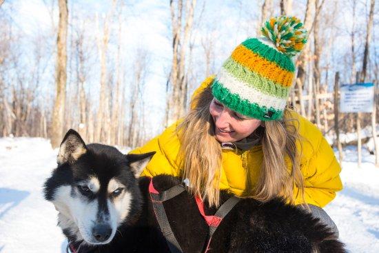 Saint Hippolyte, Канада: De belles rencontres canines