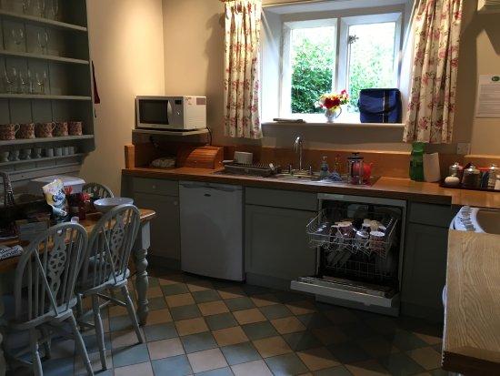 Nympsfield, UK: Kitchen