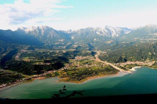 Province of Belluno, Italie : lago santa croce
