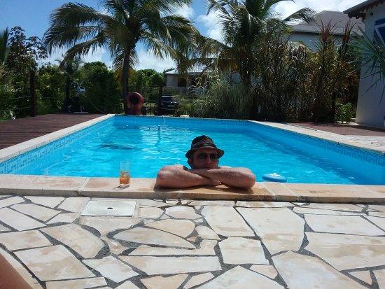 Le Moule, جوادلوب: Apero piscine planteur
