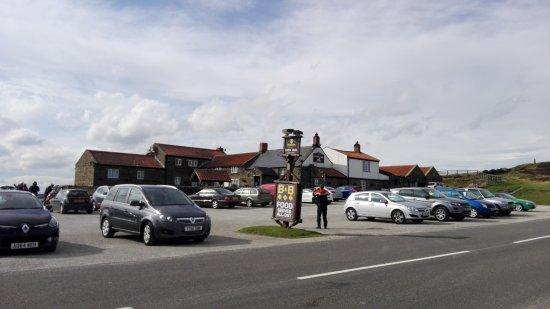 Kirkbymoorside, UK: parking place